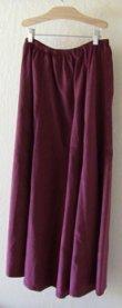 Berry 10 Gore Fine Wale Cotton Corduroy Skirt!