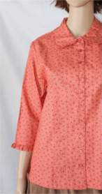 Charlevoix Rose Modest Blouse
