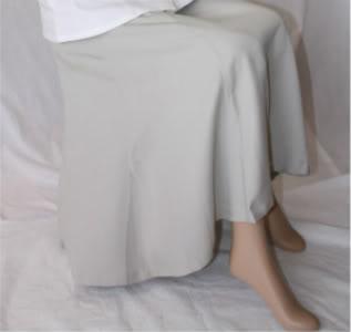 6 Gore Tencel Skirt