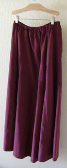 Berry 10 Gore Fine Wale Cotton Corduroy Skirt!
