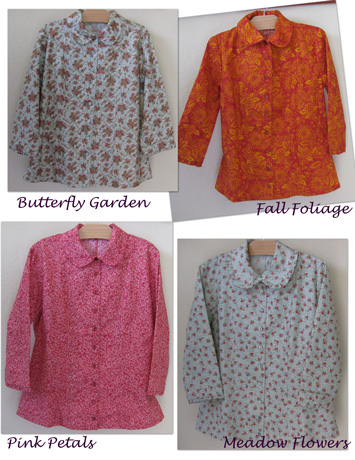 Ladies Modest blouses