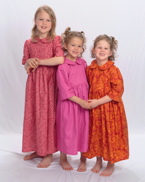 Young ladies and Little Girls' Dresses