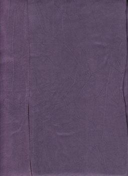 Close up of Purple in Tencel Fabric
