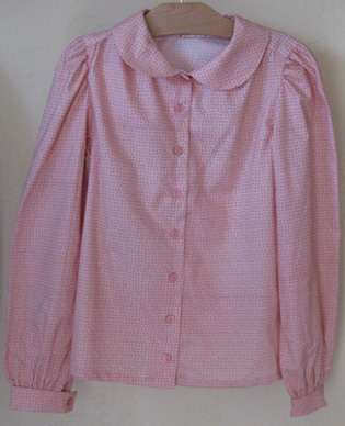 Young ladies' modest blouse in Pink!