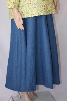 Denim Maternity Skirt