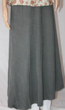 Dusty Green Tencel Skirt