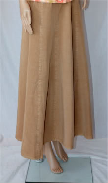 Ecru Tencel Skirt