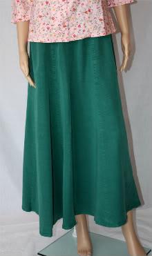 Hunter Green Tencel Skirt