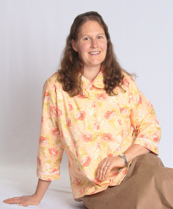 Modest Blouse shown in Primrose