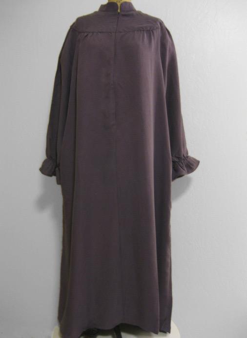 Elegant EZI Women39s Sleeveless Zipper Gingham House Dress House Coat Duster