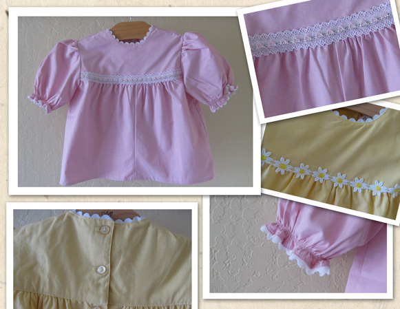 Little Girl Modest Blouse