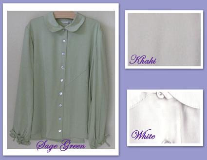 modest maternity blouse tencel